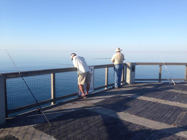 Navarre pier fishing report navarre newspaper for Navarre fishing pier