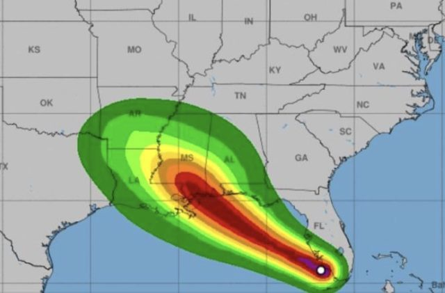 TS Gordon could bring heavy rain to the ArkLaTex
